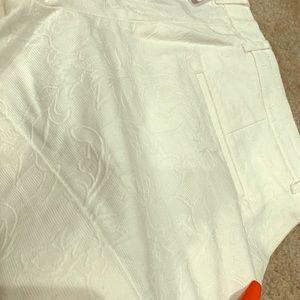 Express Shorts - White Dress Shorts